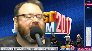 "Simon actually sings ""Better Work B*tch"" - Karaoke ( Yogscast Jingle Jam 2017)"