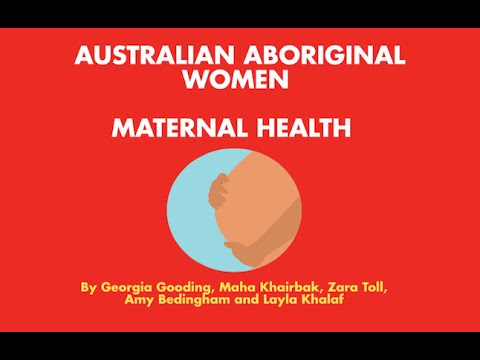 PHE2MHW Aboriginal Maternal Health