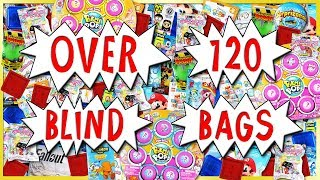 OVER 120 BLIND BAG OPENING 🎁 Roblox, Squishies & MORE Surprise Toy Compilation | Trusty Toy Channel