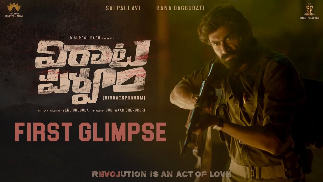 'Virata Parvam' Rana look and glimpse released today