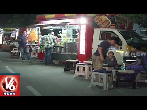 Food On Wheels   Special Report On Amazing Food Trucks In Hyderabad   V6 News