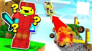 FIREBALL JUMPING! (Minecraft Bed Wars)