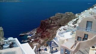 Экскурсия на Санторини Греция/Excursion in Santorini Greece(Остров Санторини стоит посетить хотя бы один раз и туда снова захочется вернуться. Остров вулканического..., 2016-04-03T07:54:50.000Z)