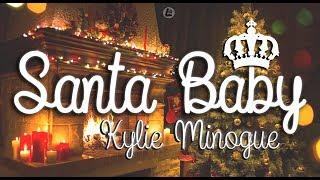 Santa Baby - Kylie Minogue (LYRICS)