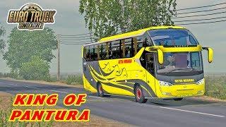 Test Drive Bus Terbaru Dari PO Setia Negara, Laksana SR2 HD Prime   ETS2 MOD INDONESIA