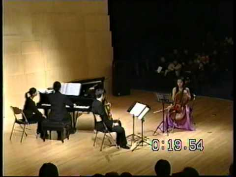 Piano Trio No.1, Op.30 [1980] - An-lun Huang