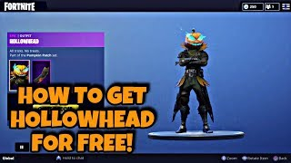 FORTNITE COMMENT OBTENIR HOLLOWHEAD GRATUITEMENT!