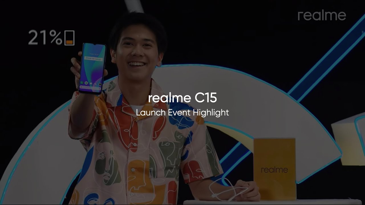 realme C15 - Launch Event Highlight