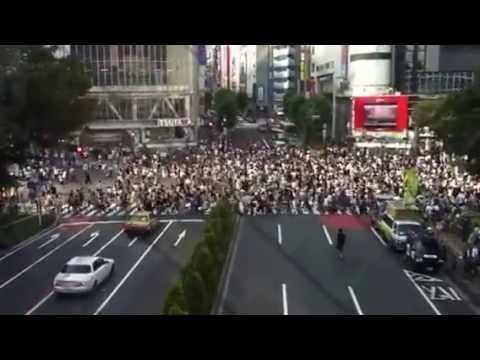 Tokyo's busy life in 2 minutes!