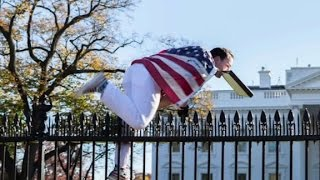 White House jumper charged with unlawful entry