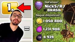 VINGANÇA NO TOP 1 DO BRASIL NO CLASH OF CLANS