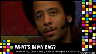 Boots Riley (The Coup) - What's In My Bag?