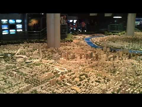 Shanghai urban planning center