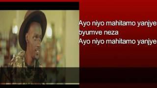 Amahitamo by social mula (lyrics ) new rwandan music 2016