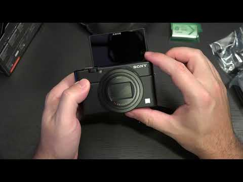 Sony RX100 VI Unboxing