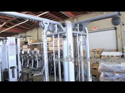 Used Life Fitness MJ8 Jungle Gym For Sale