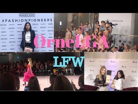 OrneLGA LFW - Emilio de la Morena, Paul Costelloe, meeting Suki Waterhouse, fashion Scout and more!