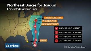 Hurricane Joaquin Projected to Hit Northeast