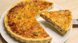 QUICHE ORIGINALE FACILE ( CUISINERAPIDE)