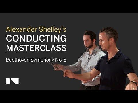 Alexander Shelley Conducting Masterclass: Beethoven 5