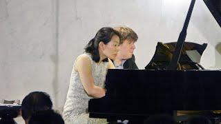 2018 ピアノデュオ TAKAHASHI|LEHMAN/ハンガリー舞曲より 第5 番 嬰ヘ短調 Allegro