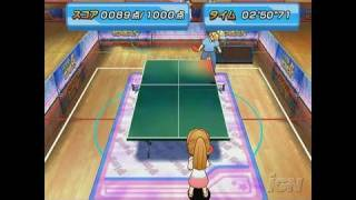 Family Table Tennis Nintendo Wii Video - Target Mode