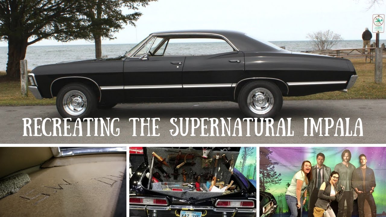 Recreating The Supernatural Impala Youtube