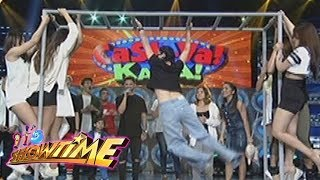 It's Showtime Cash-Ya: Team Nadine on Monkey Bar challenge