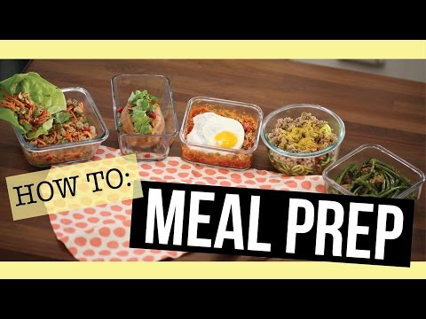 5 Easy Meal Prep Recipes all 28 Day Reset approved!