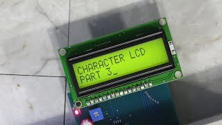 How a Character LCD Works - Part 3