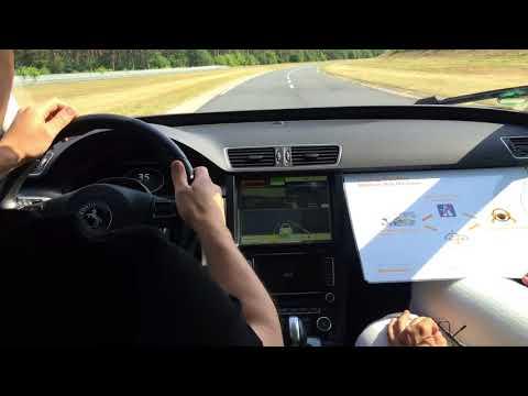 Dr. Fochler driving #Continental Cruising Chauffeur technology #IAA2017 #iaamesse  #worldpremiere