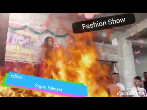 Beautiful girls of fashion show