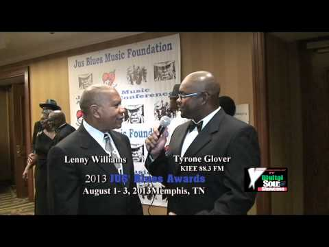 Lenny Williams Interview with Digital Soul TV @ 2013 JUS' Blues Awards, Memphis, TN
