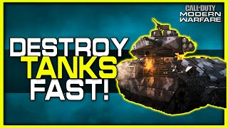 How to Destroy Tanks Fast in Modern Warfare! (Best Methods)