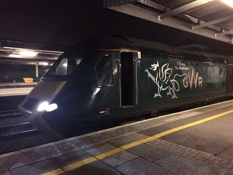 Class 43 HST Green GWR The Welshman departing from Plymouth