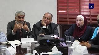بحث تنظيم وإعادة هيكلة قطاع النقل في محافظة جرش - (12-10-2017)