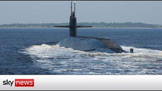 UK, Australia and US agree defence partnership to share nuclear submarine secrets