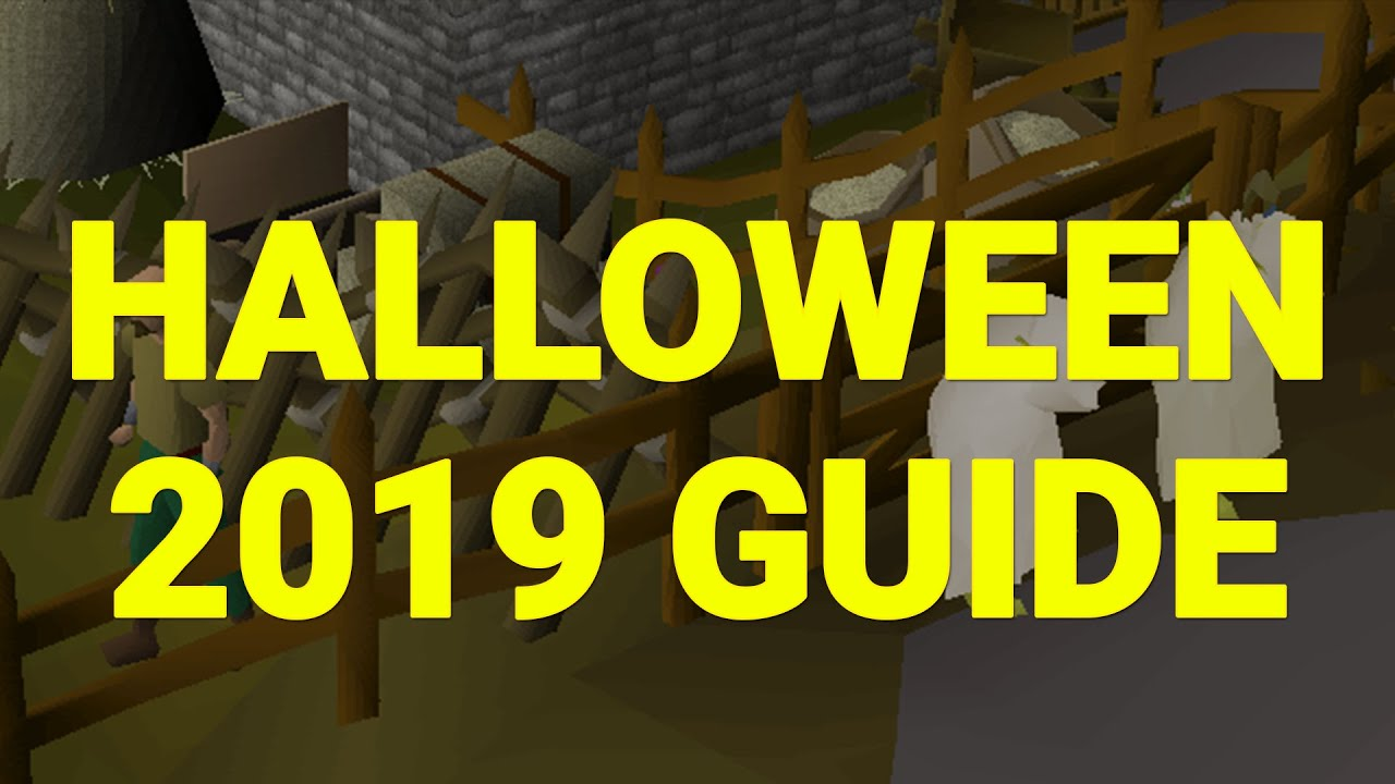 Osrs Halloween 2020 Quick Guide OSRS Halloween Event 2019 Quick Guide   YouTube