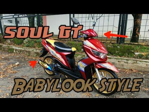 Review Modifikasi Yamaha Mio Soul Gt | Babymothai Style |Ototren Simpel & Clean