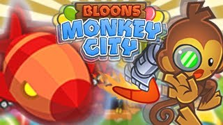 TYLKO BUMERANGI | #009 | Bloons Monkey City | PL