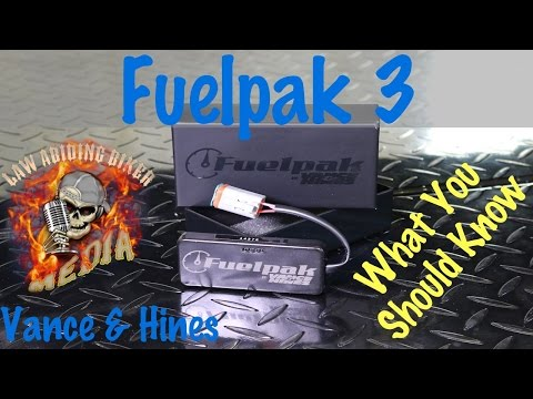 Fuelpak 3 Motorcycle Electronic Fuel Injection EFI Tuner Vance & Hines | Install Tutorial