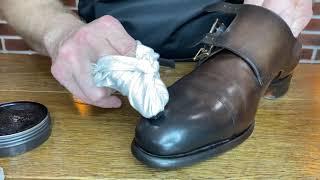 Базовый уход за мужской обувью