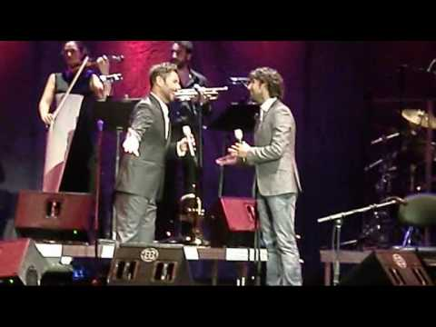 """Miguel Poveda & Arcángel - Fragmento """"La bien Pagá"""" - Palos de la Frontera 20.08.2010"""