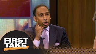 Stephen A. Smith to Kawhi Leonard: You're a grown man | First Take | ESPN
