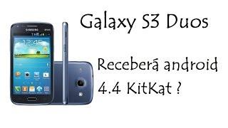Galaxy S3 Duos / Receberá android 4.4 KitKat ? / DavidTecNew / PT BR
