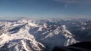 Vol sur les Alpes, d