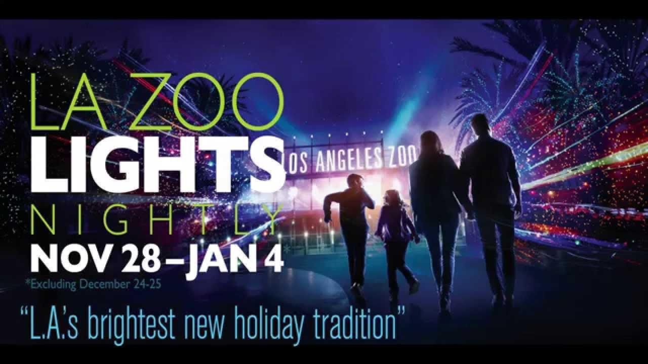 LA Zoo Lights Sneak Peak