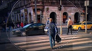 Gyalogosokat ellenőriznek Budapesten