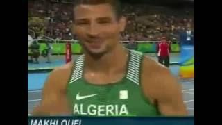 الجزائري توفيق مخلوفي يتأهل لنهائي 800 متر  اولمبياد ريو 2016