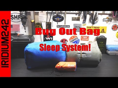 My Bug Out Bag Sleep System